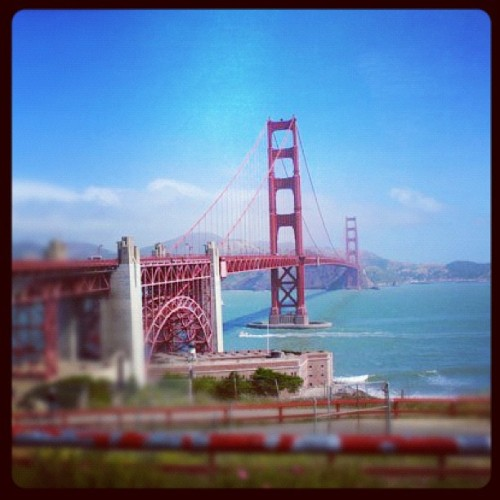 Golden Gate #holiday #california #sf #instagram #igers  (Taken with instagram)