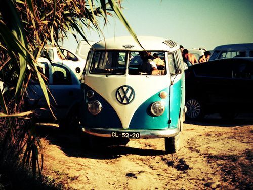 my dream vw campervan in hawaii