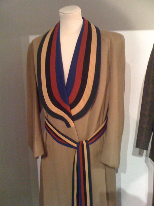 Suitable for all occasions. A rather dashing overcoat by Tommy Nutter.