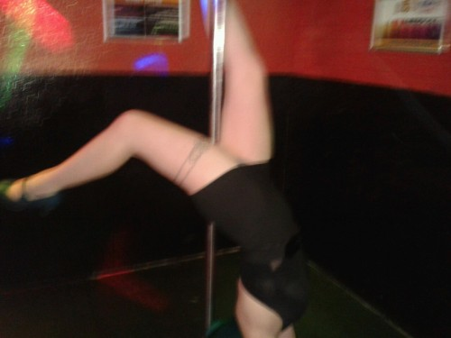 I am so classy haha!  Oh lord. Never give me tequila and a pole. :/