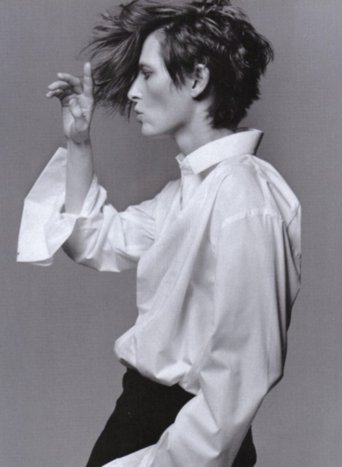 Tilda Swinton as David Bowie, photographed by Craig McDean