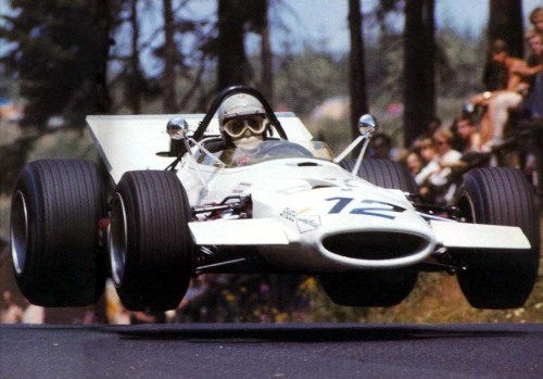 hellformotors:  Vic Elford at the 1969 German Grand Prix