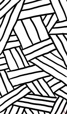 Raw Pattern Series: just simple doodled patterns in black and white. Shop them as prints or on stuff. Thanks!