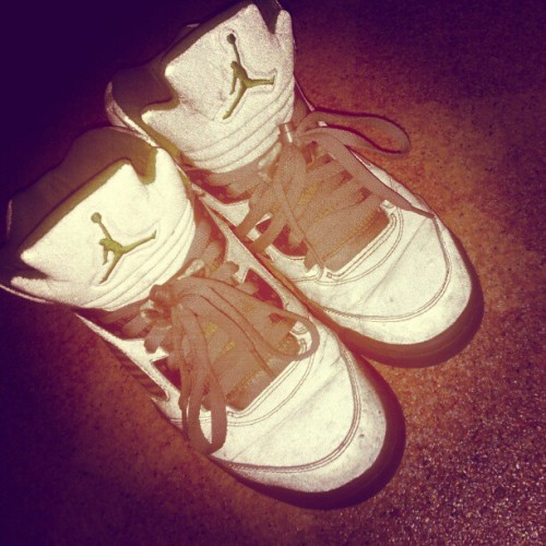 my favo jordans  (Taken with instagram)