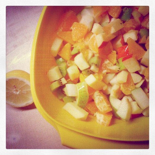 Salade de fruits … ^^ (Pris avec instagram)