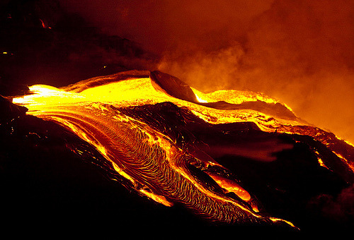 uniformitarianism:    Kīlauea volcano, south shore Big Island, Hawaii