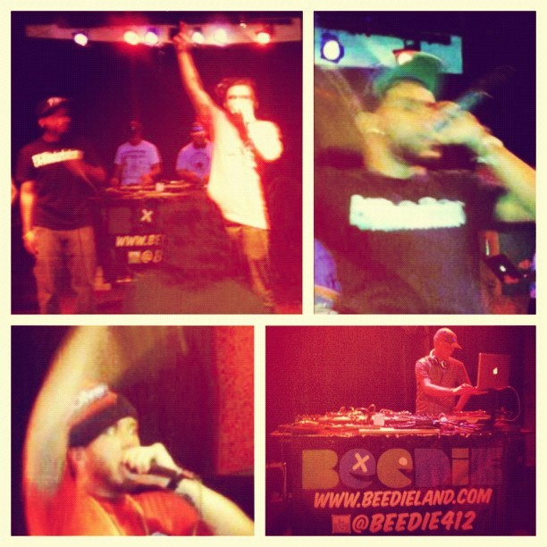 #abovetheweather tour 2012 in #detroit at The Old Miami (Taken with instagram)