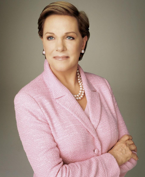 Julie Andrews One of the most inspirational women in the entire world I reckon, and one of my dream interviewees.