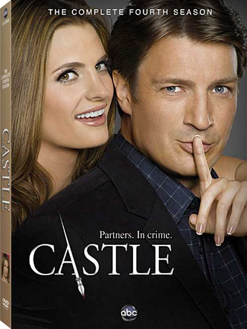 "Castle Season 4 DVDs  The book of crimes is back with the Season 4 set of ""Castle"" preparing for a release date of Tuesday, September 18th, 2012. Priced at $45.99, this set contains all the episodes from the 4th season alongside these bonus materials:  - ""Anatomy of a Stunt"" - ""Radio Stars"" - ""One Bowman is Never Enough"" - Audio Commentaries - Deleted Scenes - Bloopers  *Available for pre-order on Amazon.com  (via Spoiler TV)"