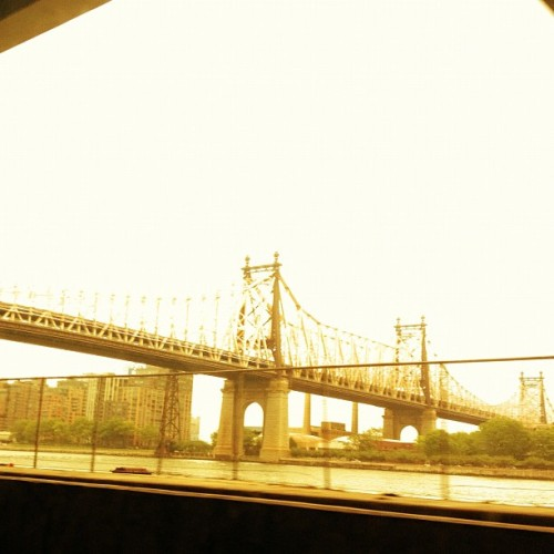 Commute #queensbridge #nyc #cityscape #commute (Taken with instagram)