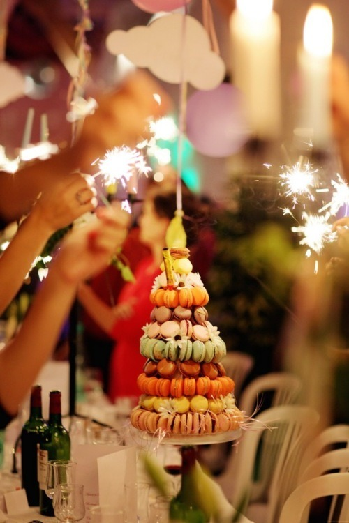 darklamb:  There was definitely a macaron tower at last weekend's wedding.