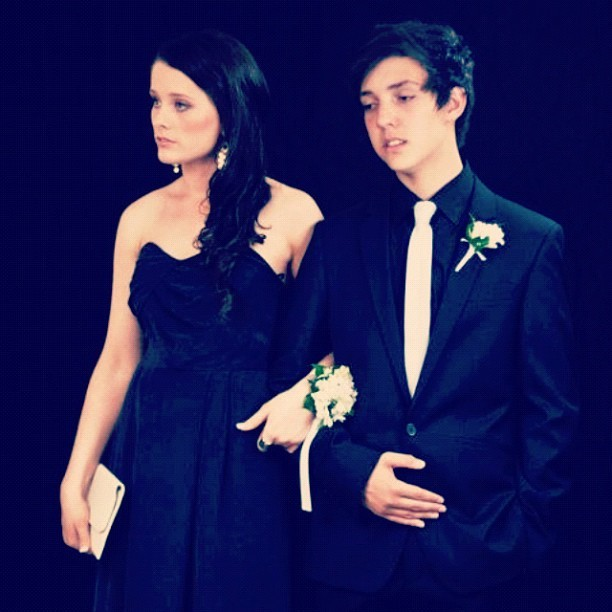 #couple #formal #prom #dress #fashion #suit #partner #grownup (Taken with instagram)