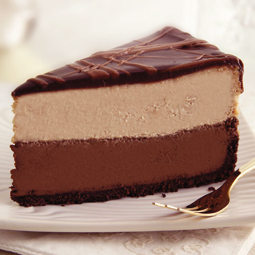cho-co-holic:  triple chocolate cheese cake