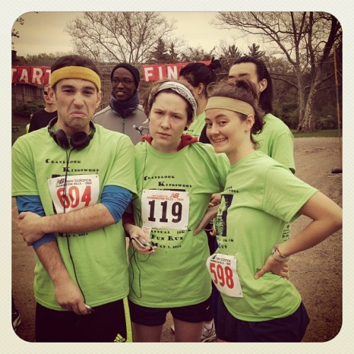 zpszabo:  Fun run! I am not running. These fools are. (Taken with Instagram at Cranbrook Kingswood)  in case you were interested, this is how i look when i'm dead inside. my bros are more energetic than i always.