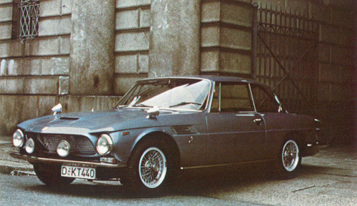 Iso Rivolta IR300 (1962) Fitted with a V8 Chevrolet engine and styled with plenty of elegance by Bertone.