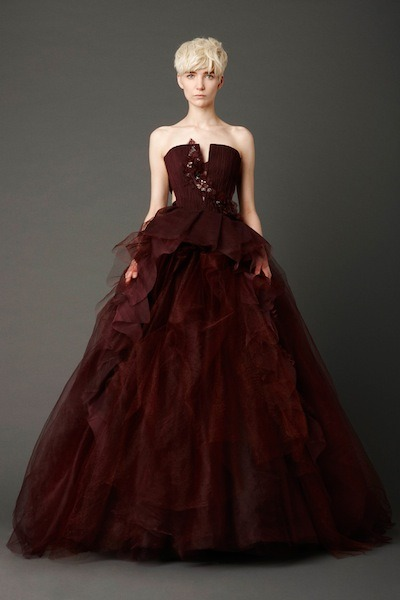Vera Wang Spring 2013 Collection: RED  gosh, i am in love with this dress!