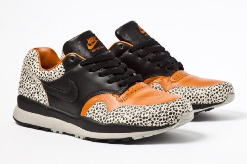 Nike Air Safari Pack 2012 Here we have a teaser of the 1987 Runner which has been teamed with the Air Trainer 1 Mid, to give us the Safari Pack.  Release date is still unknown but keep an eye out. The safari looks set to be a hit once again this year.