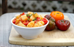 Spiced Tomato Potato Salad click image for recipe