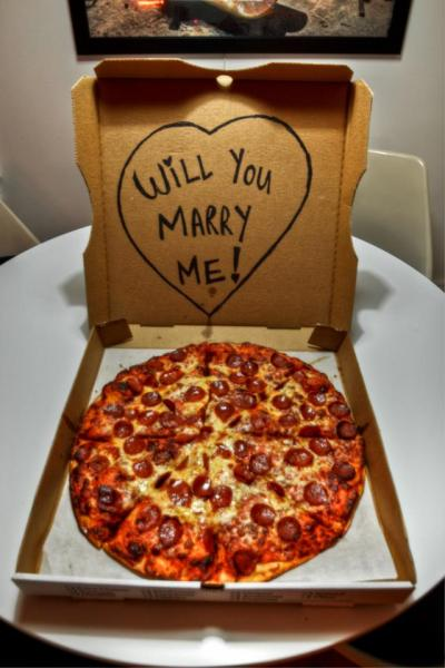 burnt-t:  yes pizza  i would say yes because of the pizza