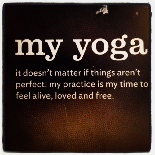 yogachick:  My yoga, my time to explore, learn, grow, and be me.
