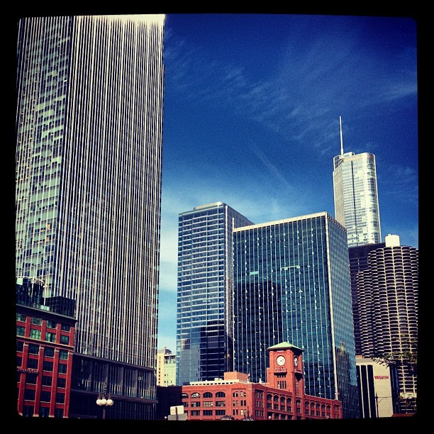 #chicago #chitecture #architecture #skyscraper (Taken with instagram)