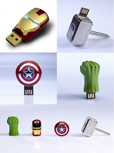 soffeline:  The Avengers USB Sticks