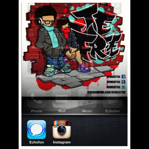 #echofon #instagram #essentials they #stayon #openallday  #picstitch (Taken with instagram)