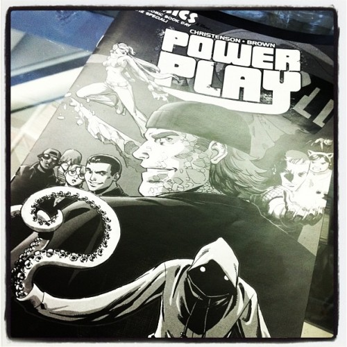 agentfenris:  Free Comic Book Day edition of @PowerPlayComic #fcbd (Taken with instagram)
