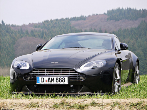 In the wild; Aston Martin V8 Vantage S