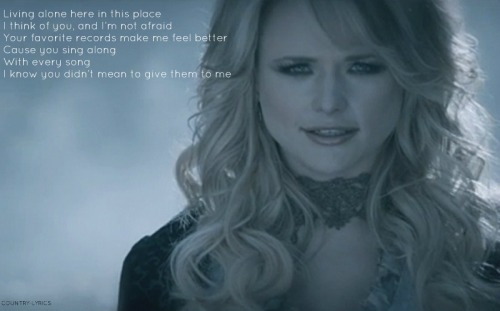 "Miranda Lambert ""Over You"""