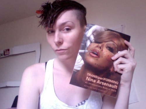 This book is amazing! Nina Arsenault is such an inspiration to me as a trans woman artist.