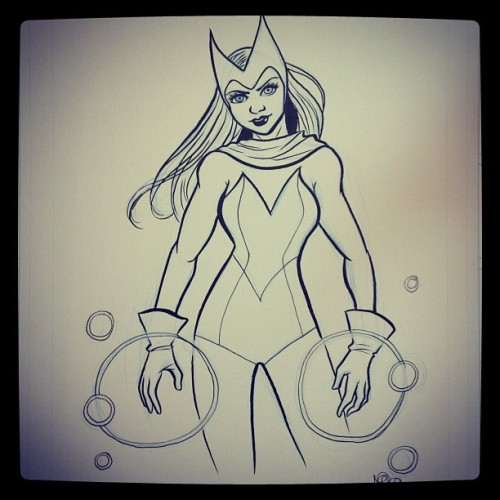 Scarlet Witch #fcbd (Taken with instagram)