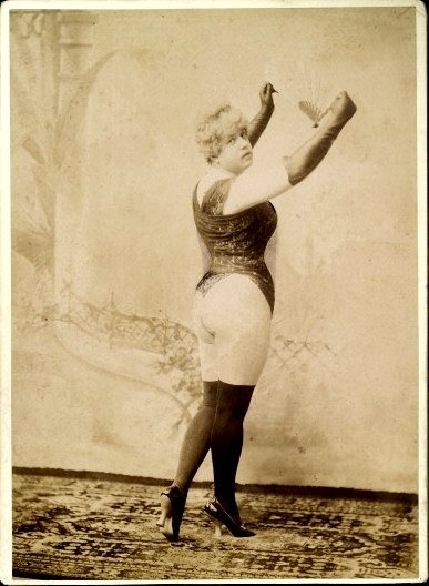 queering:  tuesday-johnson:ca. 1896, [portrait of a gentleman posed in lady's costume], Richard von Krafft-Ebing via the Wellcome Library, Archives & Manuscripts Collection
