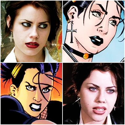 comicbookcasting:  Fairuza Balk as Lori Zechlin/Black Alice.   Every time I see a young Fairuza Balk, I see Lori Zechlin. To my mind, NO ONE would ever have been a better choice.