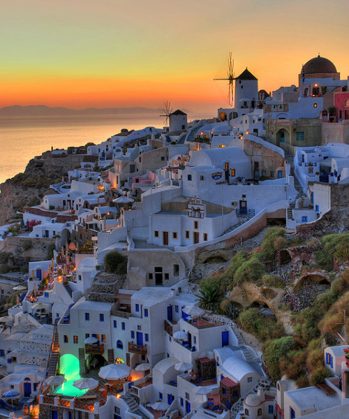 travelingcolors:  A beautiful summer story… Santorini | Greece (by MarcelGermain)