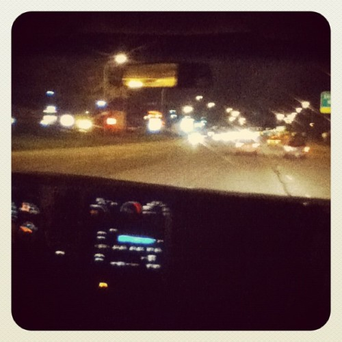My ride home from my niggas !!!! <3 (Taken with instagram)