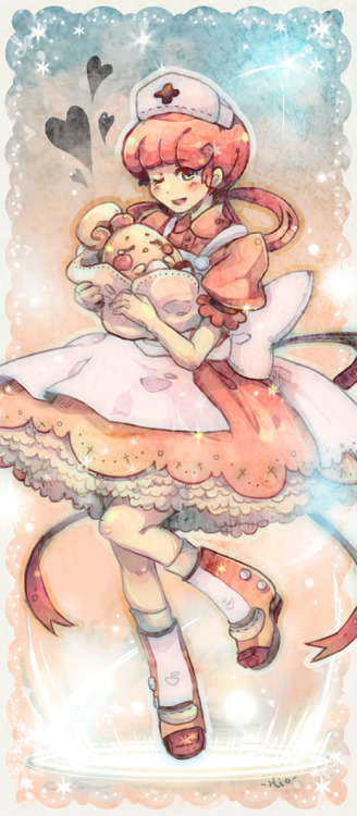 pokemonpalooza:  *xXMioXx Magical Nurse Joy~