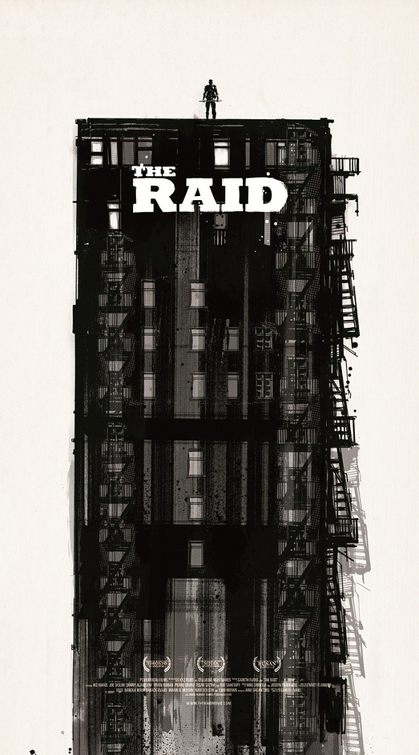 THE RAID poster by Jock. Astounding.