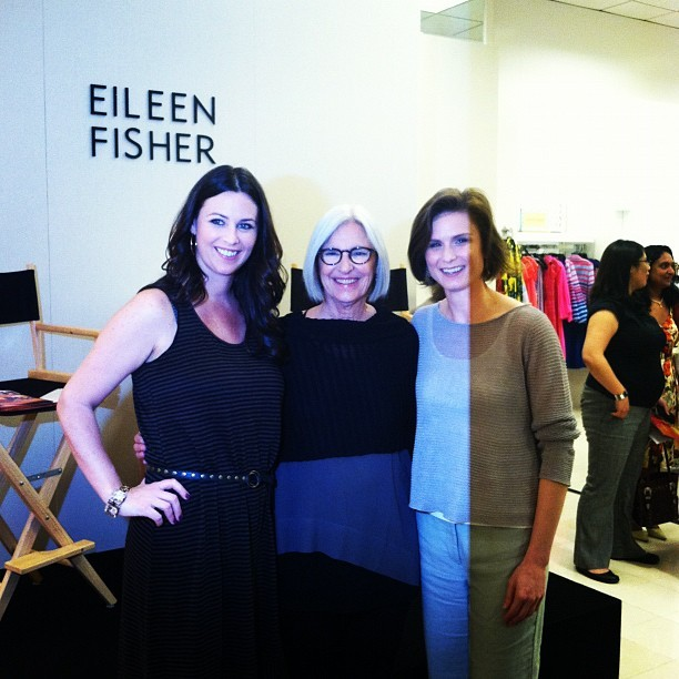 Eileen and her team #fashion #instagram  (Taken with instagram)