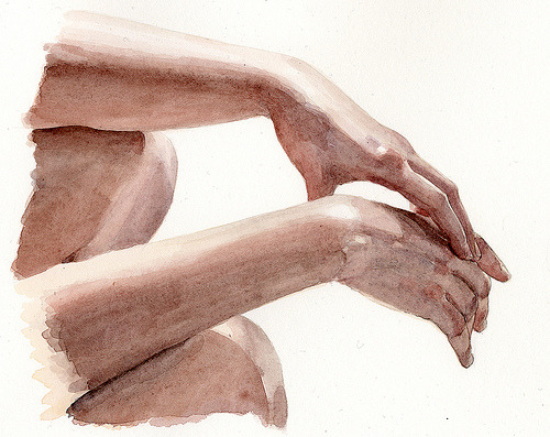 Hands… (by Wil Freeborn)