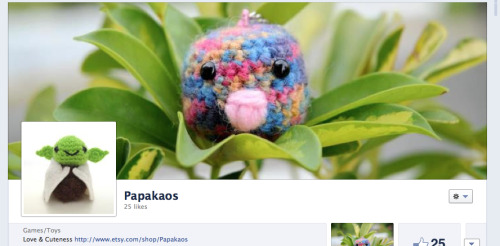 Go and like Papakaos' Facebook page! :) Vivian ♥