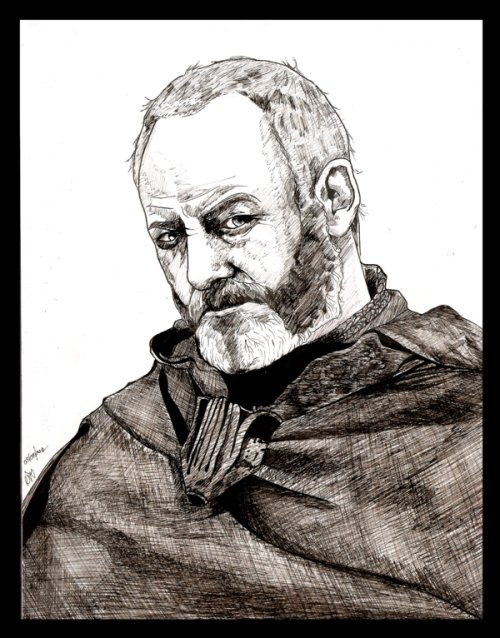 "rinception:  Davos Seaworth by ~Silent-My-Voice ""I am not made of the stuff of heroes."""