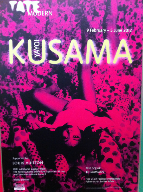 Pointillism on acid, check out Kusama at the modern