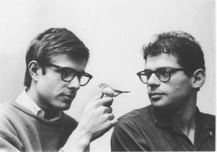 fyeahqueervintage:  Allen Ginsberg and Peter Orlovsky met in San Francisco in 1954, and remained together until Ginsberg's death in 1997. As poets and activists, they fought for gay rights and marriage equality.
