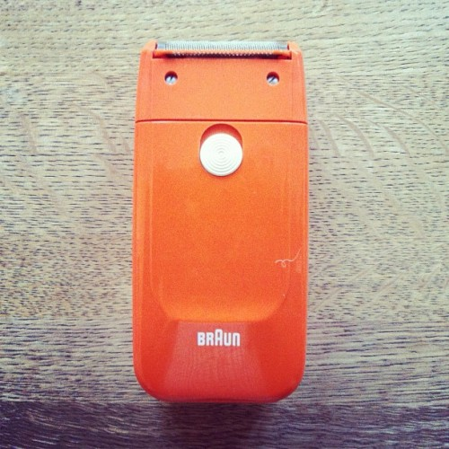 My first BRAUN (Taken with instagram)