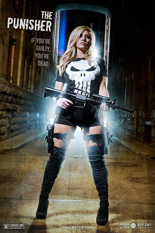 Punisher, la dama castigadora