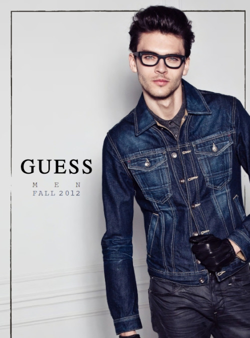 Silviu Tolu. Guess F/W 2012 Lookbook.
