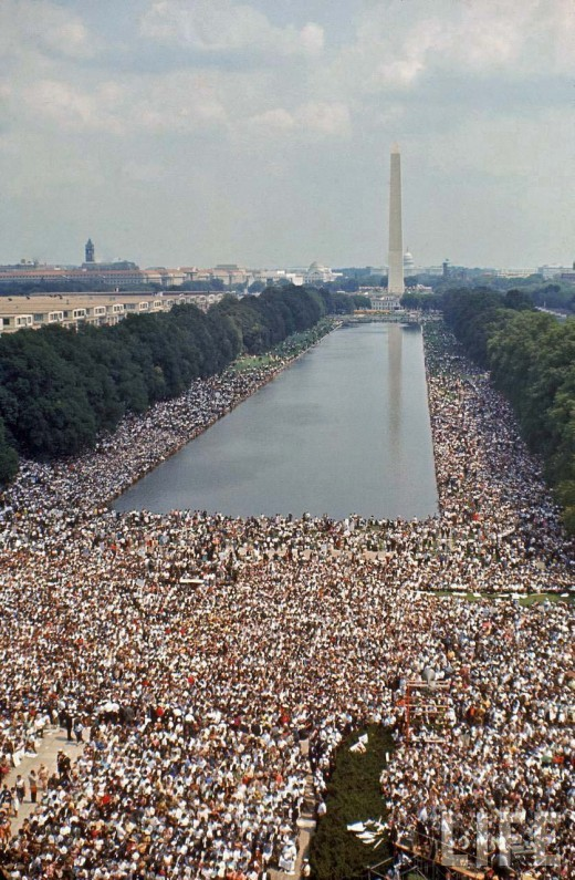 haylz:  Civil Rights March, Washington, 1963.