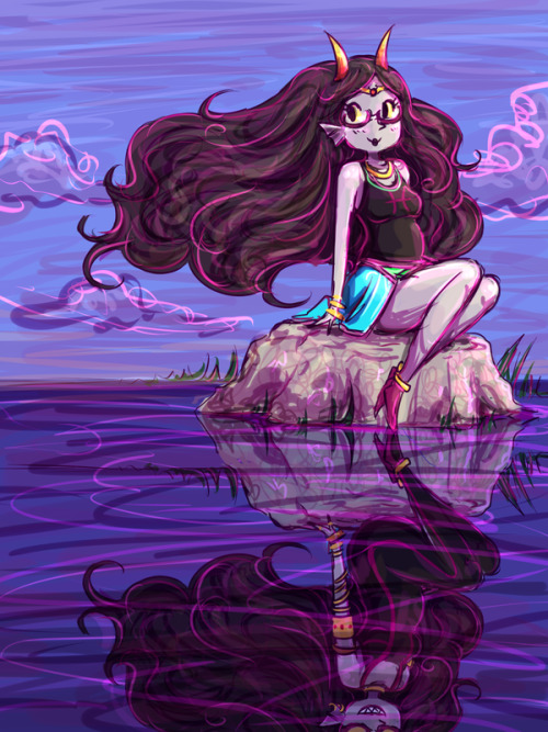 eriwwhat:  Feferi:Reflection by *Jen-Jen-Rose