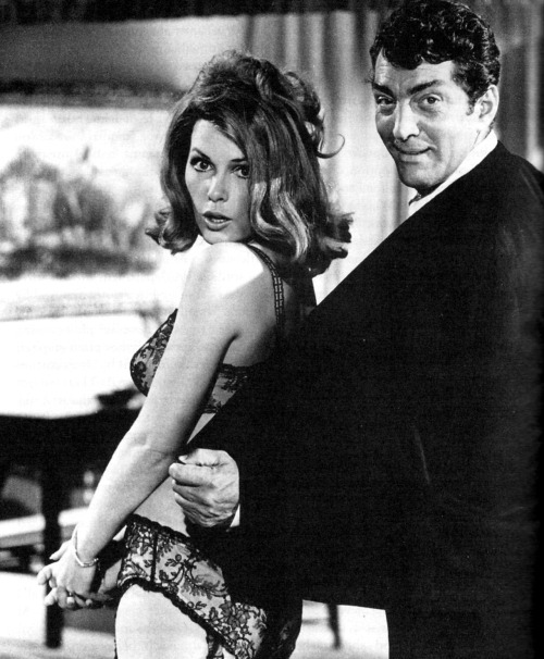 Stella Stevens and Dean Martin in The Silencers (1966).